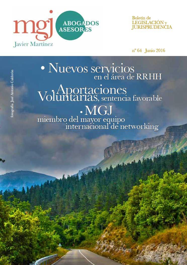 MGJ Boletín Junio 2016