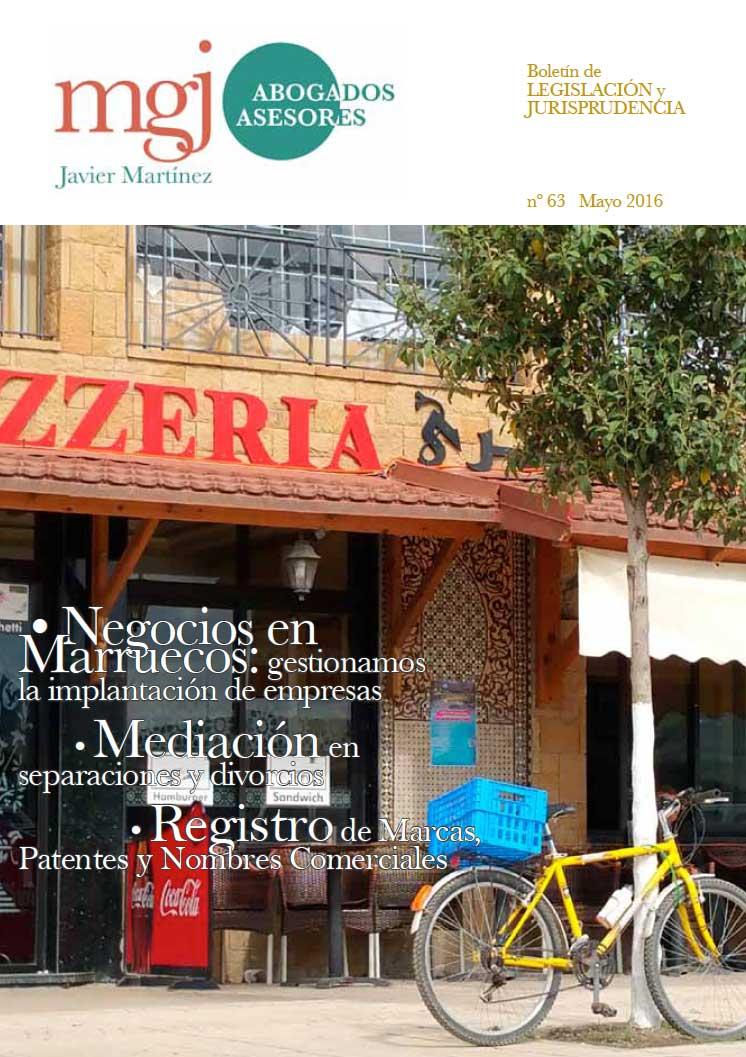 MGJ Boletín Mayo 2016