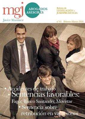 MGJ Boletín Febrero-Marzo 2016
